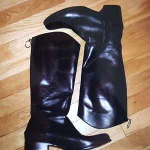 Taryn Rose zipper boots
